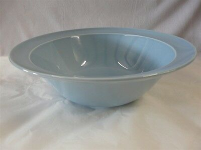 """Taylor Smith & Taylor Luray Pastels Blue Round Serving Bowl 8-7/8"""""""