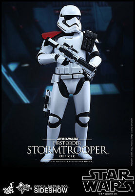 Hot Toys Star Wars FIRST ORDER Stormtrooper OFFICER Sixth Scale Figure MMS 334
