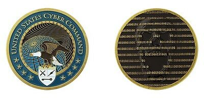 "United States Cyber Command Military 1.75"" Challenge Coin"
