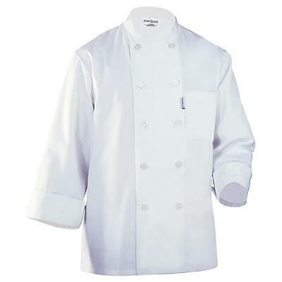 Chef Works LeMans Chef Coat Jacket - White - All Sizes