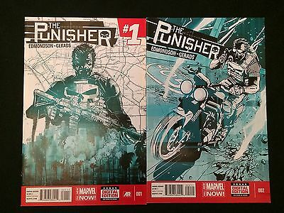 PUNISHER #1, 2 VFNM Condition