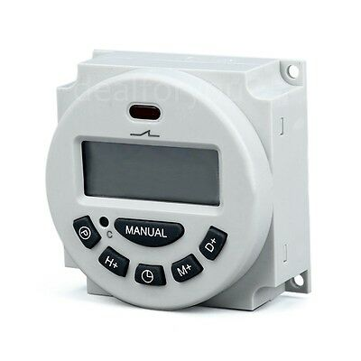 Microcomputer LCD Digital Programmable Electronic Relay  Switch Time Timer OK