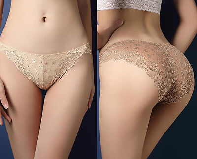 Sexy Lingerie Women's G-string Lace Hollow Panties Lady Underwear Briefs Thongs