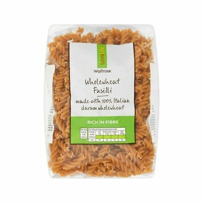 Wholewheat Fusilli Waitrose Love Life 500g
