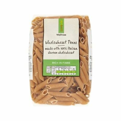Wholewheat Penne Waitrose Love Life 500g