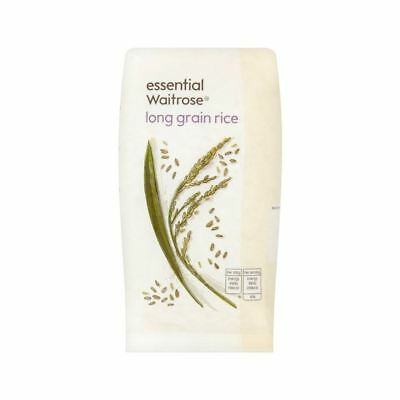 Rice Long Grain essential Waitrose 500g