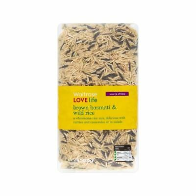 Wholesome Brown Basmati & Wild Rice Waitrose Love Life 500g