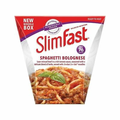SlimFast Noodle Box Spaghetti Bolognese 250g • AUD 14.25