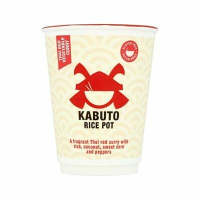 Kabuto Rice Thai Red Vegetable Curry 60g
