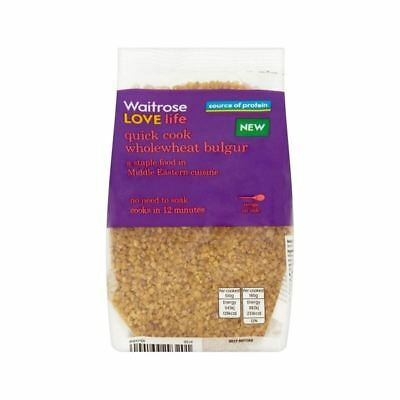 Wholewheat Bulgar Waitrose Love Life 250g