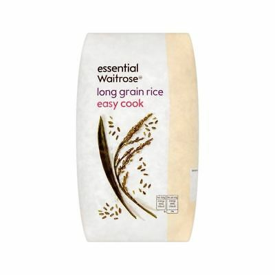 Long Grain Easy Cook Rice essential Waitrose 1kg