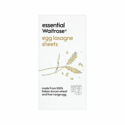 Egg Lasagne Essential Waitrose 375g