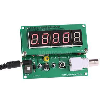 1Hz~50MHz Digital LED Meter Frequency Measurement Counter Tester Module New J5Q0