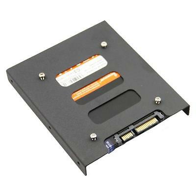 """2.5"""" To 3.5"""" SSD HDD Mounting Adapter Bracket Tray Dock For PC SSD Case Holder"""