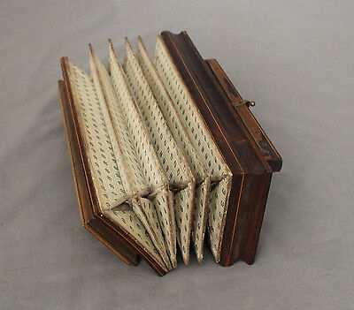 19th C French Flutina Squeeze Box Accordion c1880