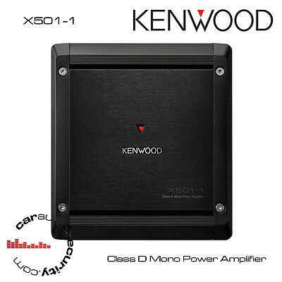 Kenwood X501-1 - Class D Mono Power Amplifier Bass Amplifier Compact Amp 500W