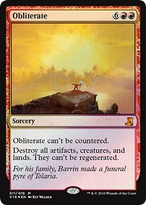 Obliterare - Obliterate mtg FOIL Eng From the Vault: Lore FTV16