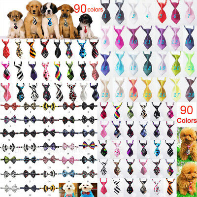 Sale 0.57/ Ps  100PCS  Pet Dog Puppy Necktie Bow Tie Ties Collar Accessories Lot