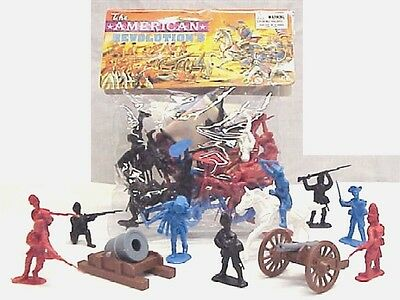 PLAYSETS 54mm American Revolution Figure Playset (50pcs) (Bagged) (Ame PYS98563