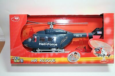 Dickie 203564966 - Kids Mate - Air Rescue Helicopter - Heli Force - Neu
