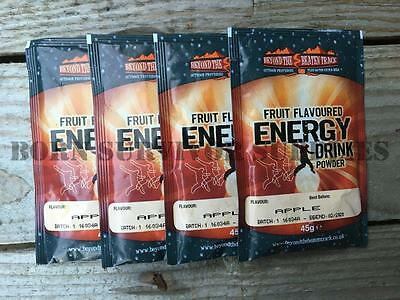 ENERGY DRINK SACHET - Powdered Fruit Juice Powder British Army 24hr Ration Pack