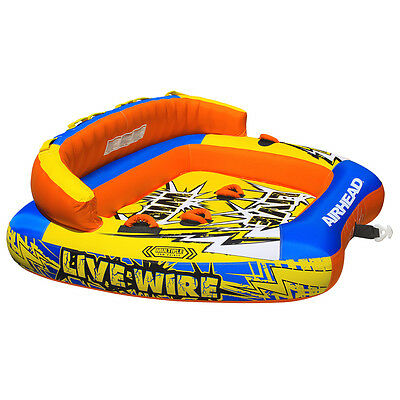 AIRHEAD Live Wire 3 Inflatable Towable Tube AHLW-3