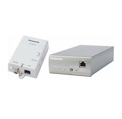Panasonic BY-HPE11KTCE Coaxial LAN Converter with POE Function, 28 W Consumption