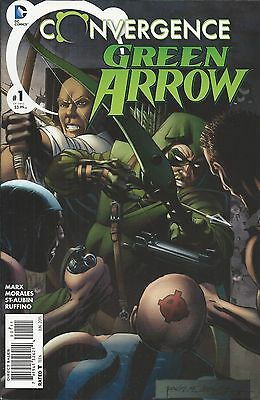 DC Convergence Green Arrow comic issue 1