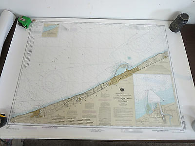 Lake Erie - Ohio & PA Sixteen Mile Creek to Couneaut #14824 Nautical Chart (s)