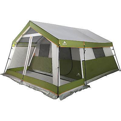 Ozark Trail 10-Person Family Cabin Tent with Screen Porch *BRAND NEW IN BOX*