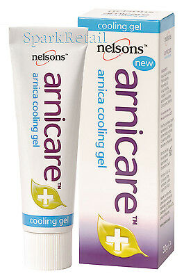 Nelsons ARNICARE Cooling Gel For Aching Muscles/Tired Legs 30g Arnica First Aid