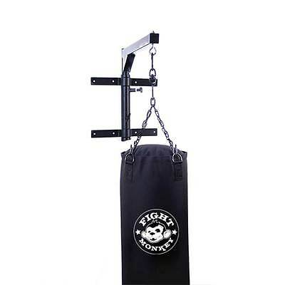 Fight  Monkey Heavy Bag Wall Mount w/ Swivel for Home & Commericial Installation