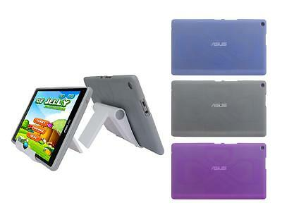 View Stand Holder + TPU Gel Skin Case Cover for ASUS ZenPad 8.0 Z380M Tablet