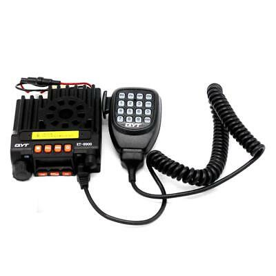QYT KT8900 136-174/400-480MHz UHF/VHF Dual Band Transceiver Car Mobile Radio