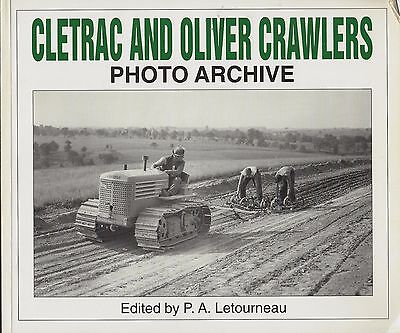 Book: Cletrac and Oliver Crawlers Photo Archive, orchard, front end loader