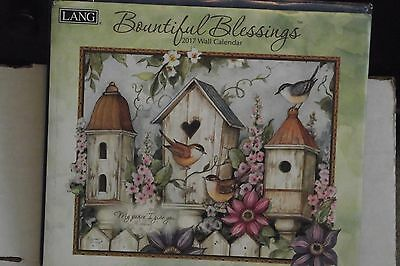"Lang 2017 BOUNTIFUL BLESSINGS Wall Calendar, 12"" x 14 inches"