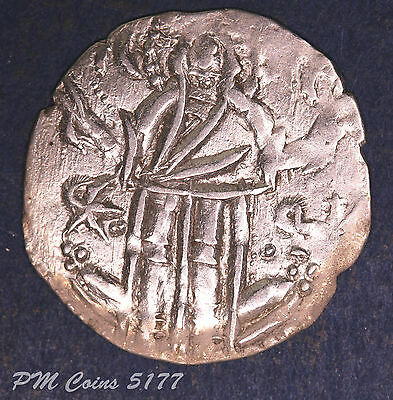 Byzantine silver coin 20-21mm, 1.41g  [lot5177]