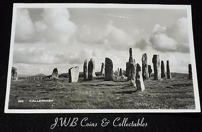 Old Postcard Of Callernish