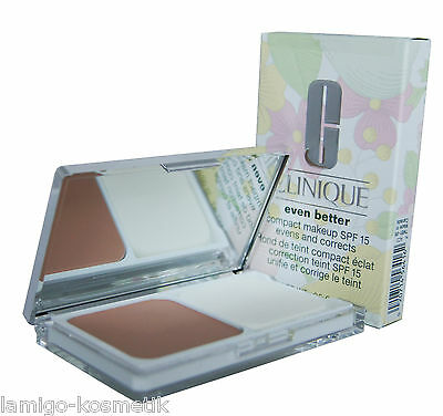 CLINIQUE even better compact makeup SPF 15 evens and corrects 10g. 14 vanilla