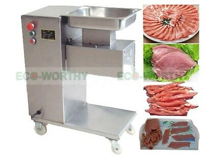 Meat Cutting Machine,Meat Cutter Meat Slicer,500KG Output,with 2 Sets Blade 220V