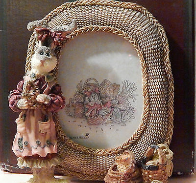 Boyds Bears Wendy Willowhare Photo Frame - NIB - Very Low # - Bunny Rabbit Frame