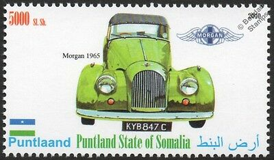 1965 MORGAN Plus Four Sports Car Automobile Stamp
