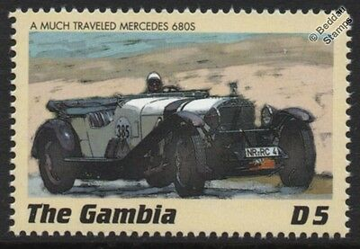 MERCEDES-BENZ 680 Sports Model K Classic Marathon Rally Car Stamp