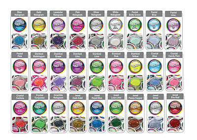 Rainbow Dust Non Toxic Cake Glitter for Decoration - CHOOSE ANY FROM JEWEL RANGE
