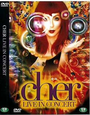 Cher Live In Concert New Sealed DVD
