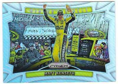 2016 Panini Prizm Racing Winner's Circle Prizm Refractor #23 Matt Kenseth