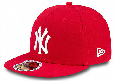 New Era New York Yankees Cap 59fifty Basic Fitted Cap Kids Young Children