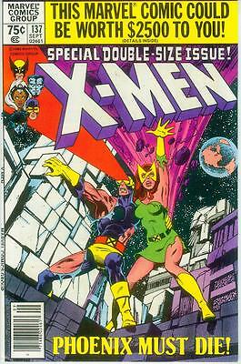 (Uncanny) X-Men # 137 (John Byrne, Phoenix dies, 52 pages) (USA, 1980)