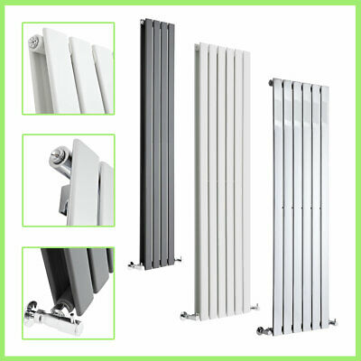 Vertical Flat Panel Designer Radiators Tall Upright Columns Central Heating