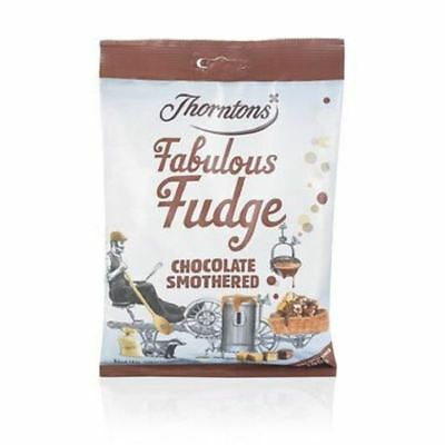 Thorntons Chocolate Smothered Fudge Bag (280g)